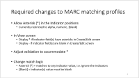 MARC matching - Required changes.PNG